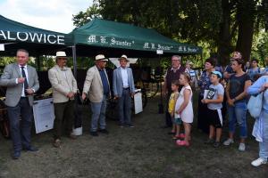 Koszęcin 2019 Otwarcie wystawy historycznych powozów